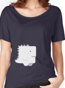 Awkward Dinosaur Boy Women's Relaxed Fit T-Shirt