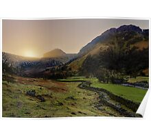 Eagle Crag - Borrowdale Poster
