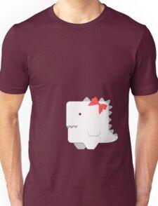 Awkward Dinosaur Girl Unisex T-Shirt
