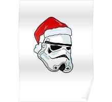 Santa Trooper Poster