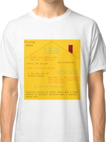 Flying Away (Fun Home) Quotes  Classic T-Shirt