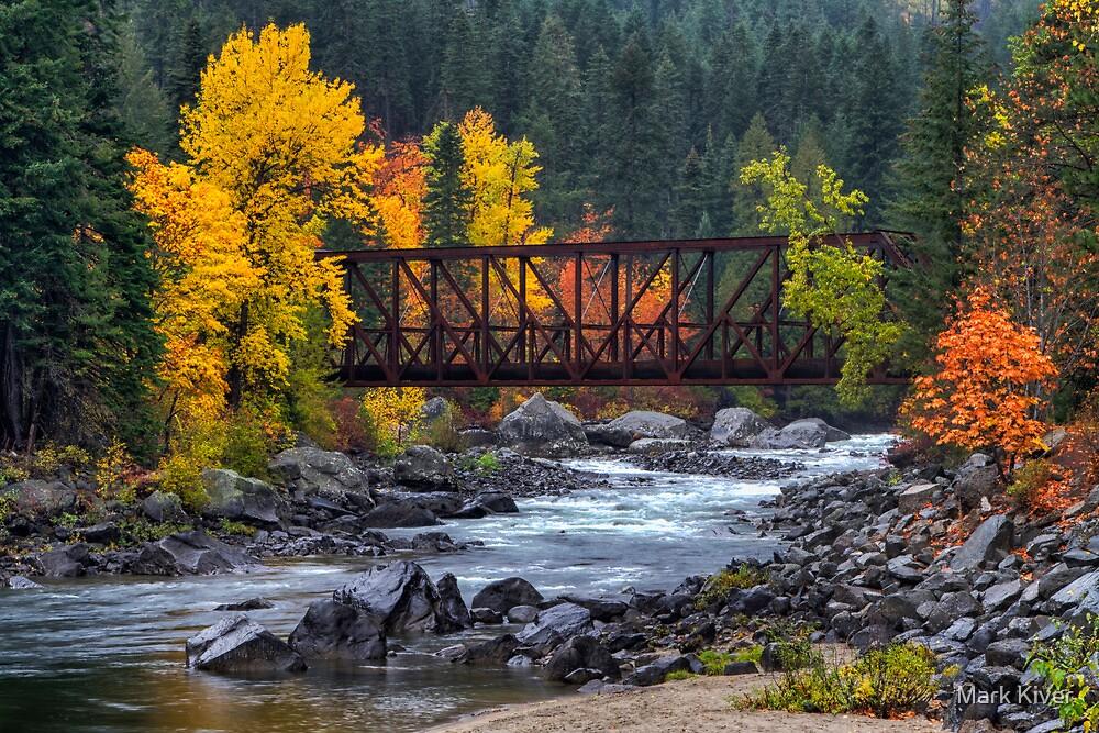 Old Pipeline Bridge by Mark Kiver
