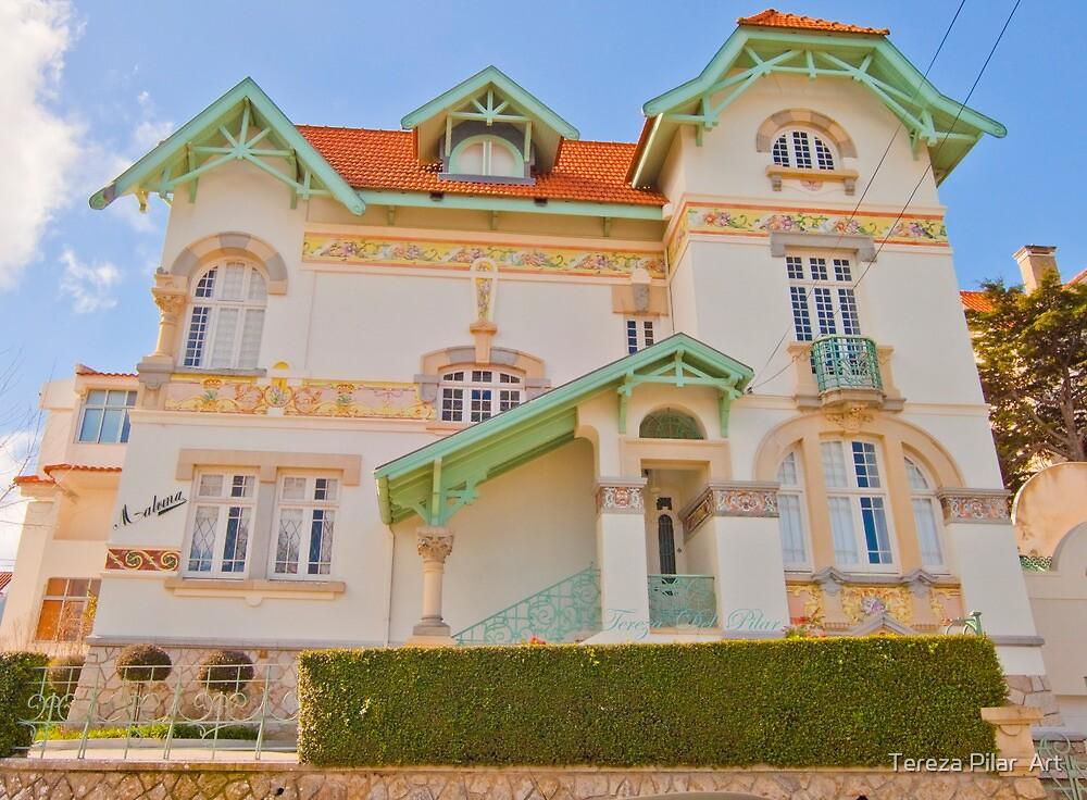 Chalet VII . Estoril by terezadelpilar~ art & architecture
