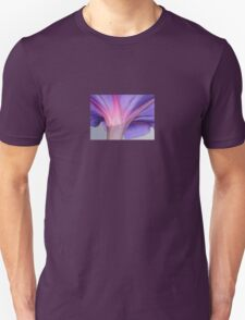 Macro of a Pale Lilac and Pink Morning Glory T-Shirt