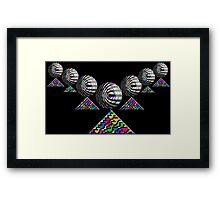 """The Elementary Chebyshev Necklace""© Framed Print"