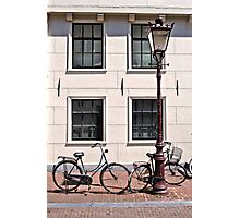 Vintage Bicycles - Plain Photographic Print
