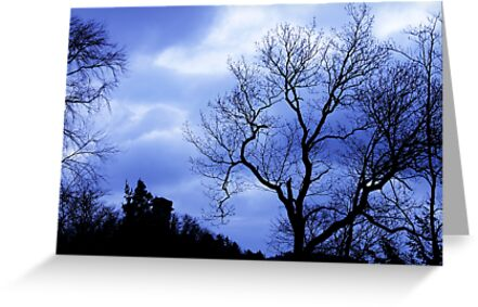 Blue Trees - JUSTART © by JUSTART