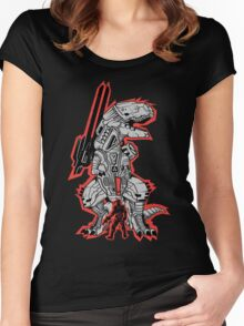 Metal Gear T.REX Women's Fitted Scoop T-Shirt