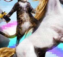 Unicorn & Cat!   Sticker