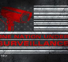One Nation Under Surveillance - ihone & Laptop shell by 01Graphics