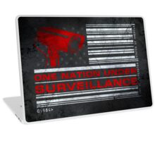 One Nation Under Surveillance - ihone & Laptop shell Laptop Skin