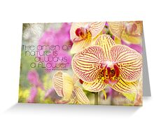 The amen of nature... Greeting Card