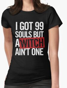 How Many Kishin Souls Womens Fitted T-Shirt