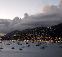 Sundown on St. Thomas by designingjudy