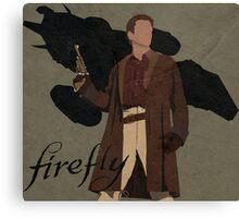 "Firefly ""Malcolm Reynolds"" Canvas Print"