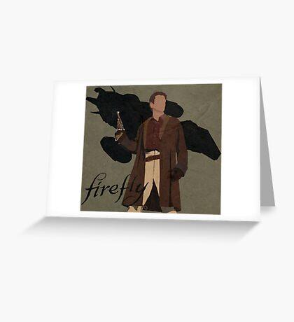 "Firefly ""Malcolm Reynolds"" Greeting Card"