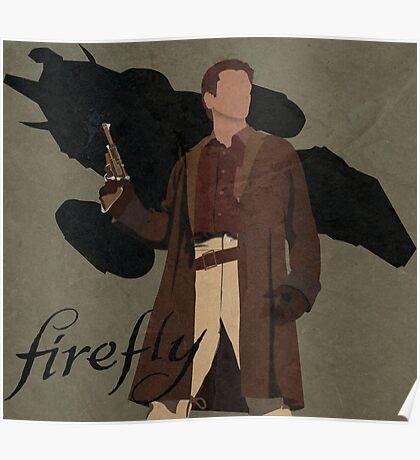 "Firefly ""Malcolm Reynolds"" Poster"