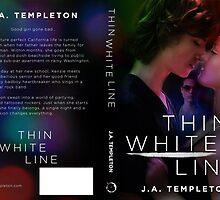 Thin White Line- Full Wrap Cover by Regina Wamba