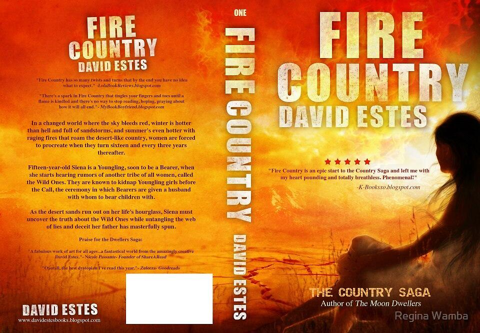 Fire Country- Full Wrap by Regina Wamba