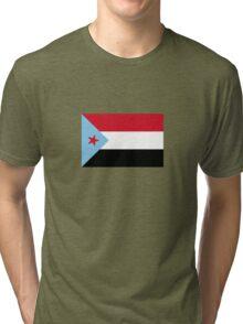 The People's Democratic Republic of Yemen Tri-blend T-Shirt