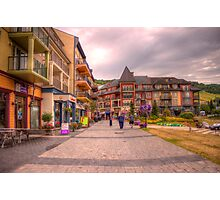 Blue Mountain Village Photographic Print