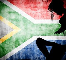 South African Flag by GraphicDivide