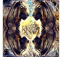 Tiger fractal Photographic Print