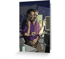 Science Bros. Greeting Card