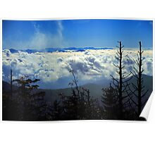 CLOUDS,CLINGMANS DOME Poster