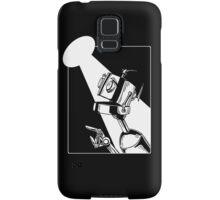 Robot in the Spotlight Samsung Galaxy Case/Skin