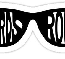 Nerds Rock Sticker