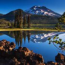 Sparks Lake Sunrise - Oregon by Mark Kiver
