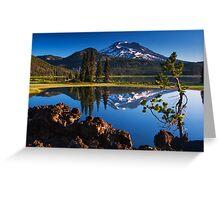Sparks Lake Sunrise - Oregon Greeting Card