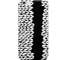 Missing Knit On Side iPhone Case/Skin