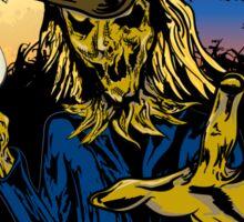 Scarecrow, Man Sticker