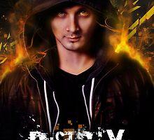 DJ- custom portrait by Regina Wamba