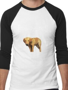 Rowdy no! Men's Baseball ¾ T-Shirt