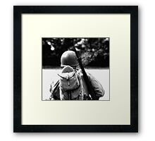 Bullets and Cigarettes Framed Print