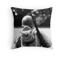 Bullets and Cigarettes Throw Pillow