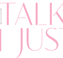Girls Aloud - I Don't Wanna Talk I Just Wanna Dance - Pink lyrics  Sticker