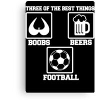 three of the best thing Canvas Print