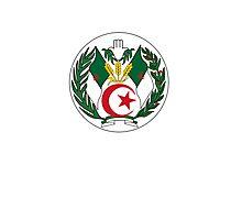 Coat of Arms of Algeria Photographic Print