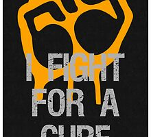 Fight For A Cure Multiple Sclerosis MS Awareness by Sarah  Eldred