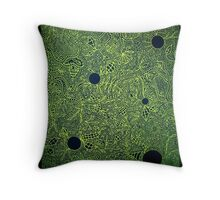 The War is Green Throw Pillow