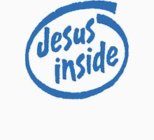 "Christian ""Jesus Inside"" T-Shirt Womens Fitted T-Shirt"