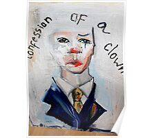 Confession of a clown Poster