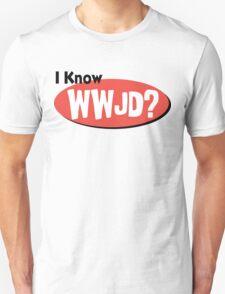"Christian ""I Know WWJD?"" T-Shirt"
