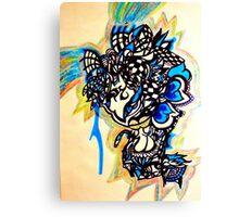Melt my mind Canvas Print
