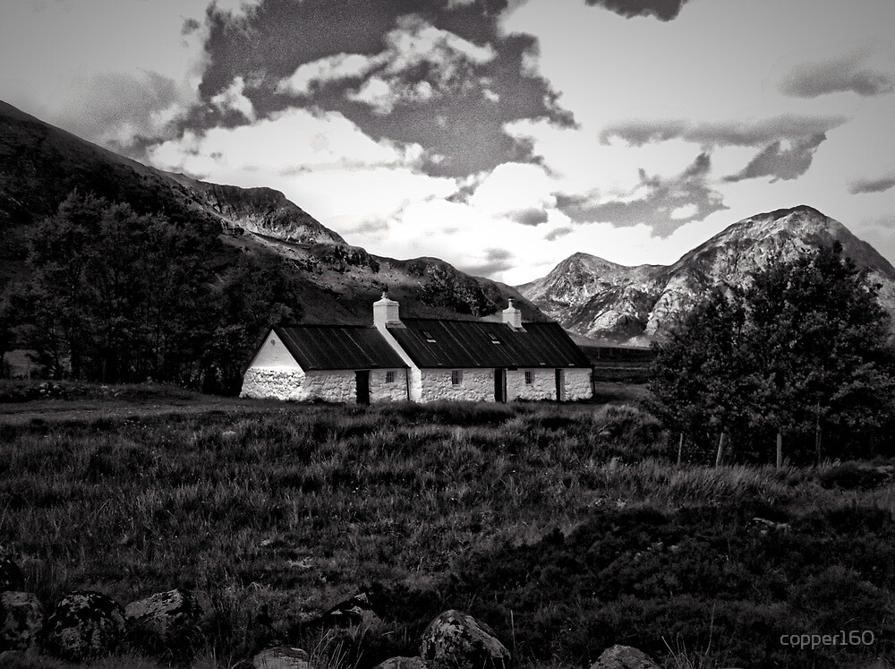 The Glencoe Mountain Cottage by copper160