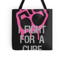 Breast Cancer Awareness Fight For Cure Tote Bag